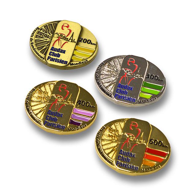 2016-2019 BRMメダル